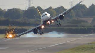هبوط اضطراري مرعب للطائرات... لا يفوتك !!!