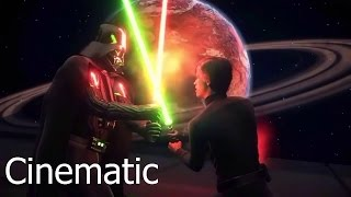 luke s path to the dark side ea star wars battlefront death star cinematic