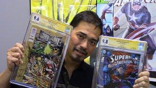 CGC Haul - Torpedo Comics Dec. 2017 Signings Part 1.