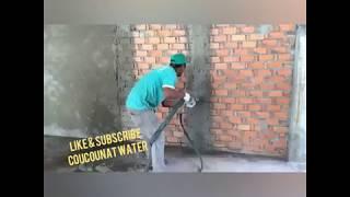 Mesin Plester Tembok Terbaru - Woow Cepat dan Rapih Hasilnya