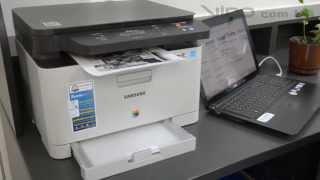 МФУ Samsung Xpress C460W: NFC-печать