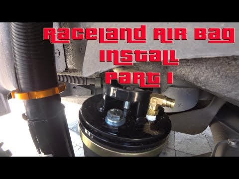 How to install Raceland Air Suspension on a VW MK4 Part1 S4 EP15