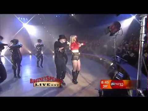 Britney Spears - Circus and Womanizer Live GMA HD