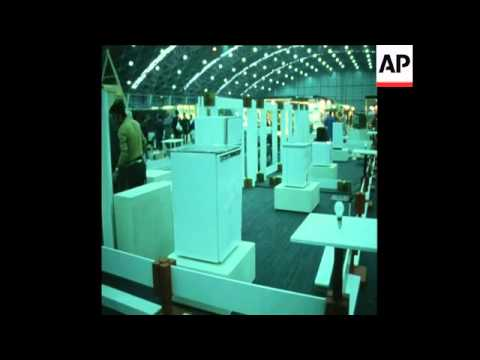 SYND 16/04/71 JAPAN HOLDS IT'S 9TH INTERNATIONAL TRADE FAIR IN TOKYO