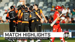 Scorchers sizzle as Renegades stay winless | KFC BBL|09