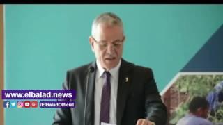 5 محافظين بالصعيد يفتتحون مؤتمر التنمية الاقتصادية 'صنع في المنيا'..فيديو وصور