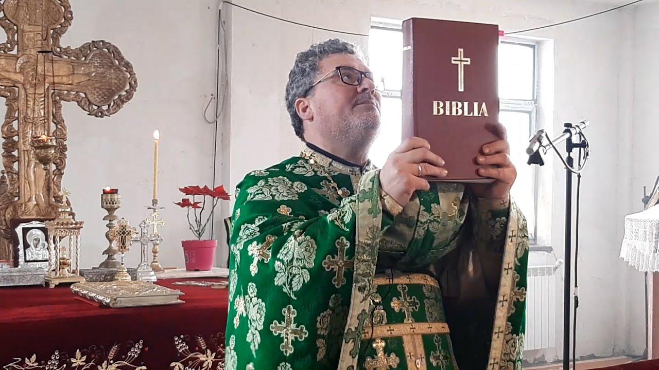 Pr. Mihail Adeodatus Ungureanu - Cuvânt de învățătură: