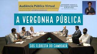Audiência Pública da vergonha - SOS Floresta do Camboatá