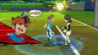 Inazuma Eleven Go Strikers 2013 Inazuma Japan Vs Inazuma Girls Wii 1080p (Dolphin/Gameplay)