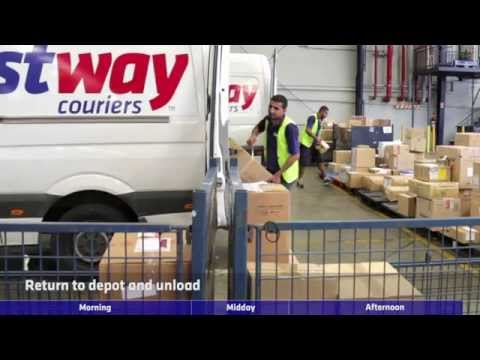 A Day in the Life of a Fastway Courier