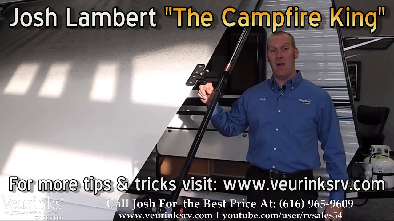 RV Tips Tricks Awning Fabric Tightener The Deflapper