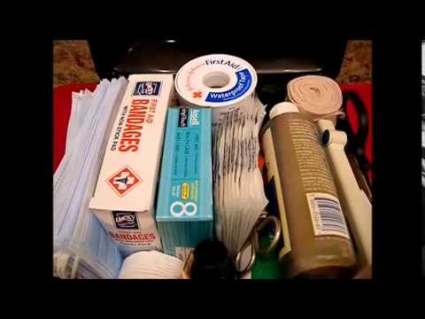Organizing the kitchen making a first aid kit youtube for First aid kits for restaurant kitchens