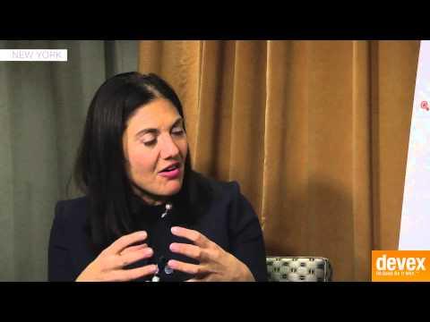 Mary Ellen Iskanderian: Women and finance Part 1