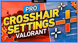 The BEST PRO Croṡshair Settings for Valorant