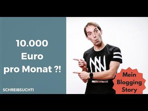 BLOGGER WERDEN: Von 0 Auf 10.000 € Pro Monat - Mein Weg Zum Blogger