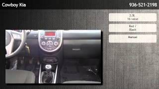 2012 Kia Soul Wagon Manual +  - Houston