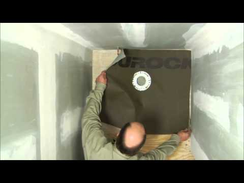 How To Install Tile Durock Tile Membrane Installation Youtube
