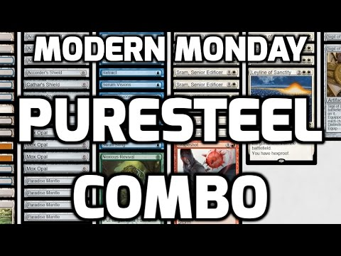 Modern Monday: Puresteel Combo (Match 1)
