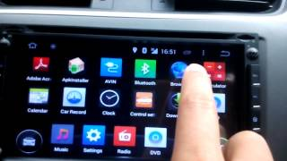 Android Car dvd Player  Use 3G for Internet