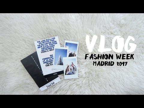 VLOG FASHION WEEK MADRID | Teresa Macetas