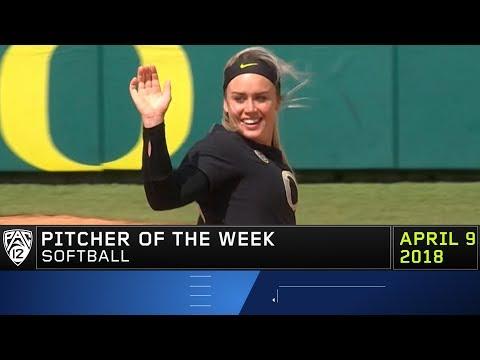 Oregon's Miranda Elish claims Pac-12 Softball Pitcher of the Week award