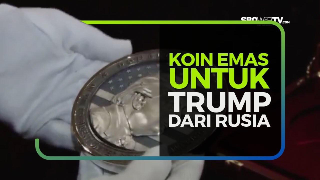 KOIN EMAS UNTUK TRUMP DARI RUSIA
