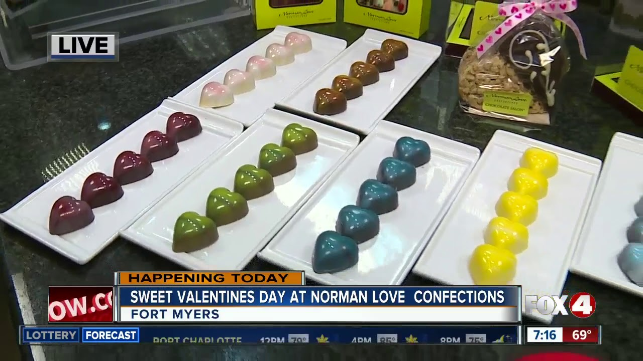Sweet Valentines Day At Norman Love Confections 7am Live Report