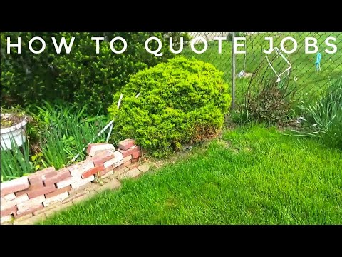 How to Quote Landscaping Jobs – Property Walk