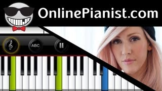 Ellie Goulding - Anything Could Happen - Piano Tutorial & Sheet Music