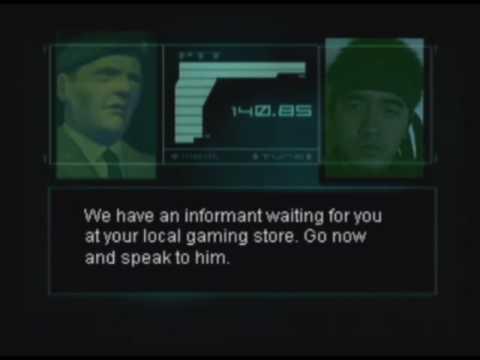 Metal Gear Gaseous: Gas Chamber