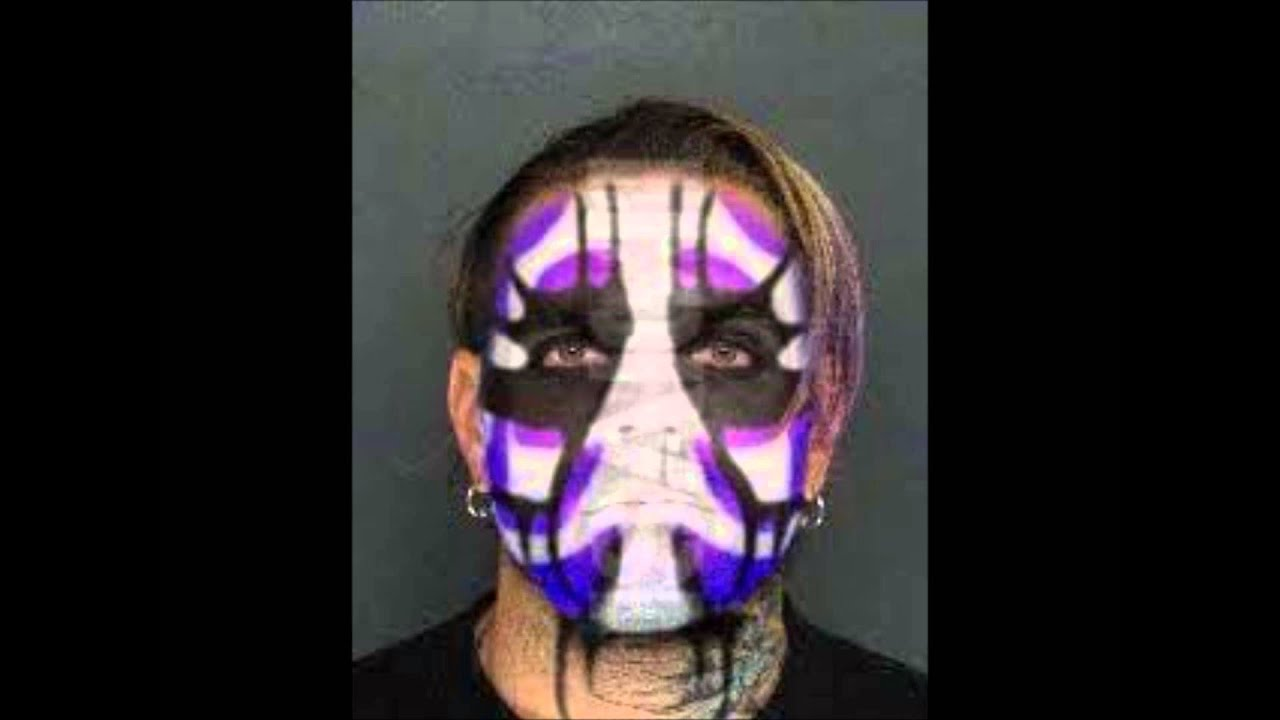 How To Make Jeff Hardy Face Paint On Wwe