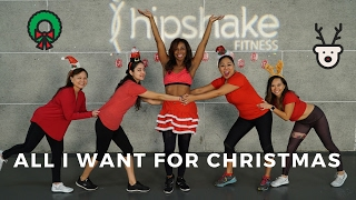 All I Want For Christmas | Dance Workout Choreography | Mariah Carey | Flirty Hip Hop