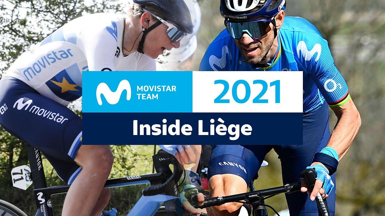 Download Inside Liège-Bastogne-Liège: Valverde y Van Vleuten, contra los mejores   Movistar Team