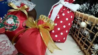 Faça Sacos de Noel Para Presentes ou Sachês Perfumados