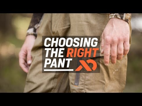 Choosing the Right Pant