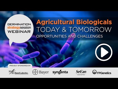 Agricultural Biologicals Today & Tomorrow, Opportunities and Challenges