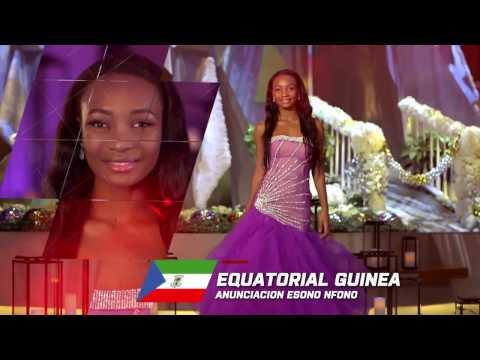 Mensaje de Navidad de la Miss Guinea Ecuatorial 2016: Anunciacion Onguene