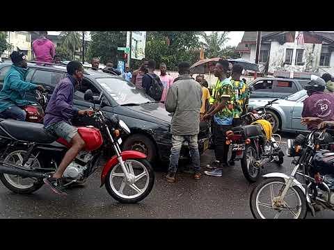ACCIDENT ON 20TH STREET SINKOR MONROVIA LIBERIA 2021