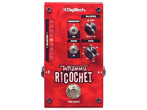 The Digitech Whammy Ricochet - A TPG Funky Find! ThePedalGuy