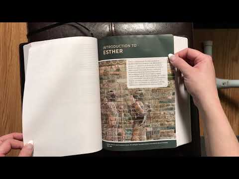 Bible pages sticking..? How to unstick them