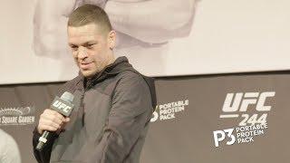 UFC 244: Open Workout Highlights