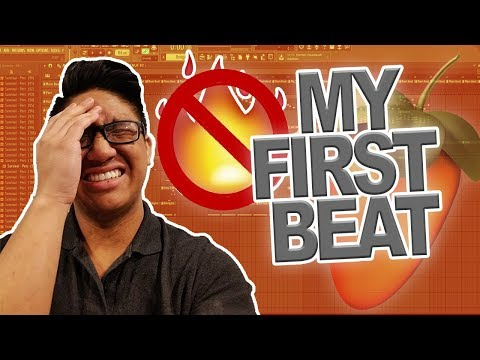 DONT WATCH, ITS CRINGE! REACTING TO MY VERY FIRST BEATS IN FL STUDIO!