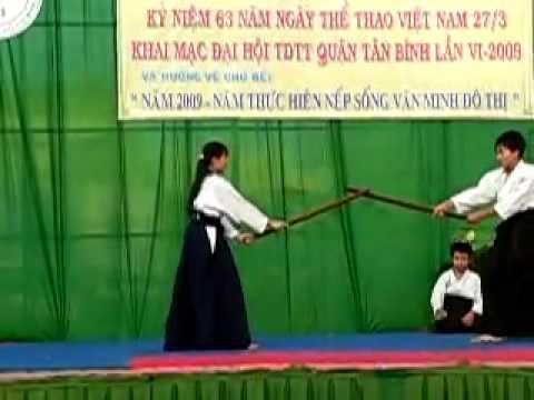 63 năm Ngày thể thao Việt Nam - Phần 2/3 - Aikido Meidokan Dojo 合気道明道館道場