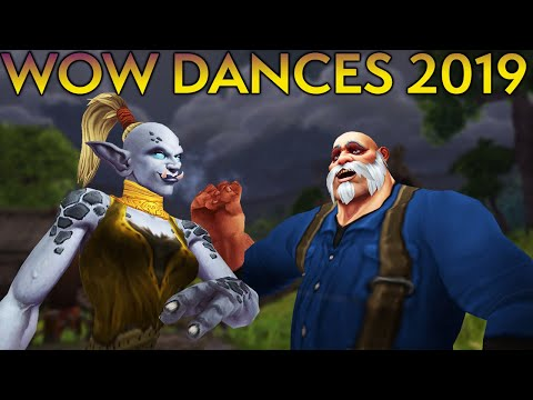 NEW World Of Warcraft Dances With References - 2019 Update