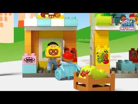 Lego Duplo Klocki Miasteczko 10836 Youtube