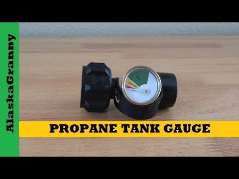 Propane Tank Gauge Level Indicator - How Much Propane Is In The Tank