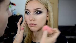 Видео-урок . Вечерний макияж с использованием палетки Atrlier t24 и UD & Gwen Stefany
