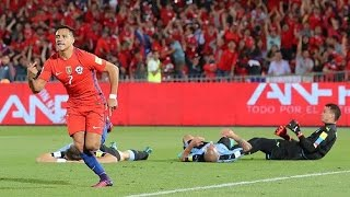 Chile 3 - 1 Uruguay | Eliminatorias Rusia 2018 | Claudio Palma
