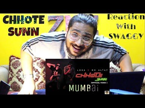 CHHOTE SUNN Song   Loka X MC Altaf   Reaction Video   SWAGGY   SQuaD ZNZ