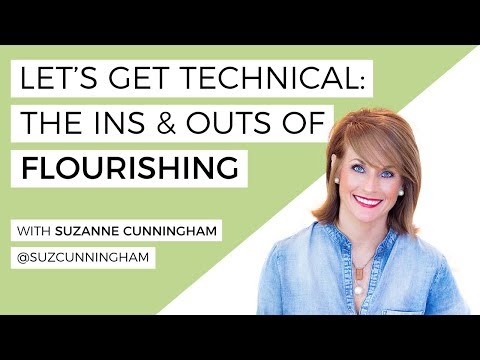 The Ins & Outs Of Flourishing- LIVE Lesson With Suzanne Cunningham Of @suzcunningham